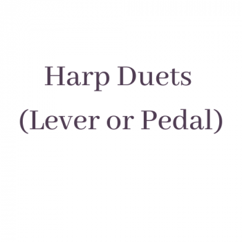 Harp Duets (lever or pedal)